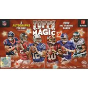 2012 TOPPS MAGIC FOOTBALL HOBBY 12CT CASE