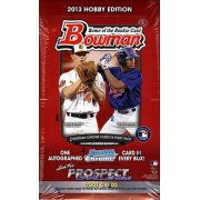 2013 BOWMAN BASEBALL HOBBY 12CT CASE