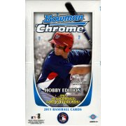 2011 BOWMAN CHROME BASEBALL HOBBY 12CT CASE  (GREAT INVESTMENT ) EXTREMELY RARE CASE TO FIND SEALED