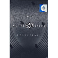 2013 UPPER DECK ALL TIME GREATS BASKETBALL HOBBY 3CT CASE (RARE CASE TO FIND SEALED )