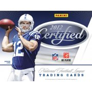 2012 PANNI CERTIFIED FOOTBALL HOBBY 8CT CASE
