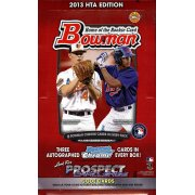 2013 BOWMAN BASEBALL JUMBO HOBBY 8CT CASE