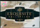 2010 UPPER DECK EXQUISITE FOOTBALL 3CT CASE