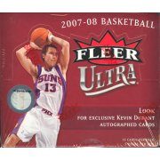 2007/8 FLEER ULTRA BASKETBALL HOBBY BOX (DURANT ROOKIE )