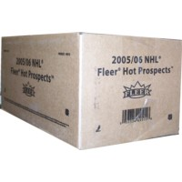 2005/06 FLEER HOT PROSPECTS HOCKEY HOBBY 12CT CASE ( RARE CASE TO FIND SEALED  )