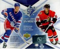 2005/06 UPPER DECK SPX HOCKEY HOBBY 14CT CASE ( VERY HARD CASE TO FIND SEALED )