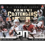 2012 PANINI CONTENDERS FOOTBALL HOBBY 12CT CASE
