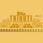 2013 TOPPS TRIBUTE BASEBALL HOBBY 4CT CASE