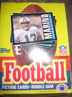 1985 TOPPS FOOTBALL BOX