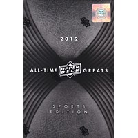 2012 UPPER DECK ALL TIME GREATS SPORTS EDITION 3CT CASE