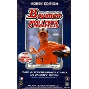 2012 TOPPS BOWMAN DRAFT BASEBALL HOBBY 12CT CASE