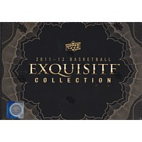 2011/12 UPPER DECK EXQUISITE BASKETBALL HOBBY 3CT CASE (LEBRON AUTOS)