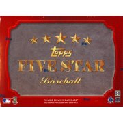 2012 TOPPS 5 STAR BASEBALL BOX