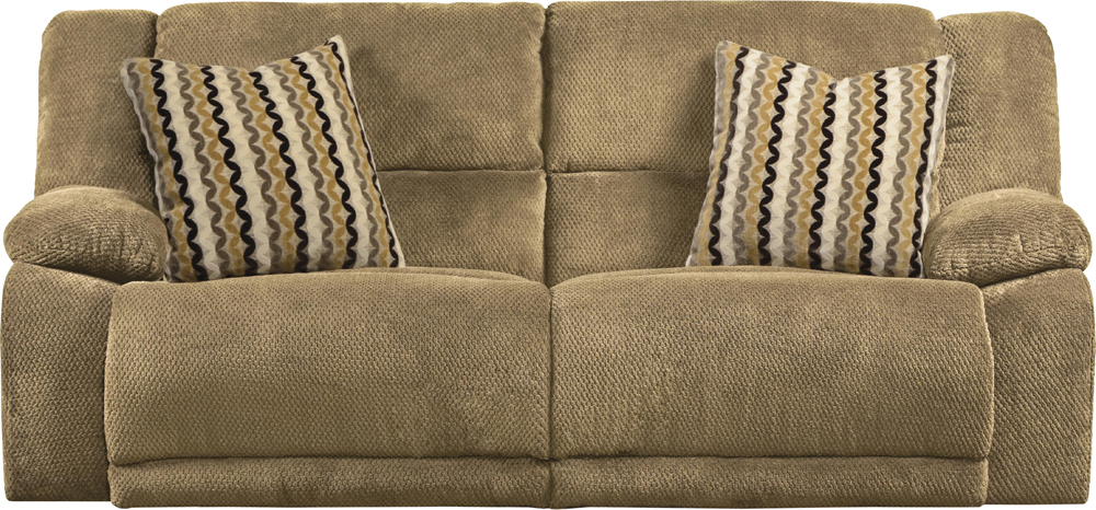 Catnapper Hammond Coffee/Taupe Reclining Sofa - 1441