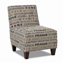 Klaussner Furniture Transitional Accent Chairs