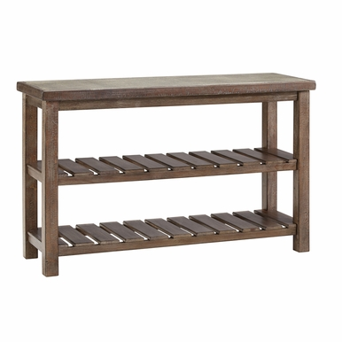 Signature Design by Ashley - Rustic Accents Sofa Table - T500-104 - Quickship