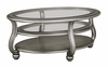 Signature Design by Ashley - Coralayne Oval Cocktail Table - T820-0 - Quickship