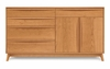 Copeland Furniture - Catalina 4 Drawers, 1 Drawer Over 2 Doors On Right Buffet - 6-CAL-72