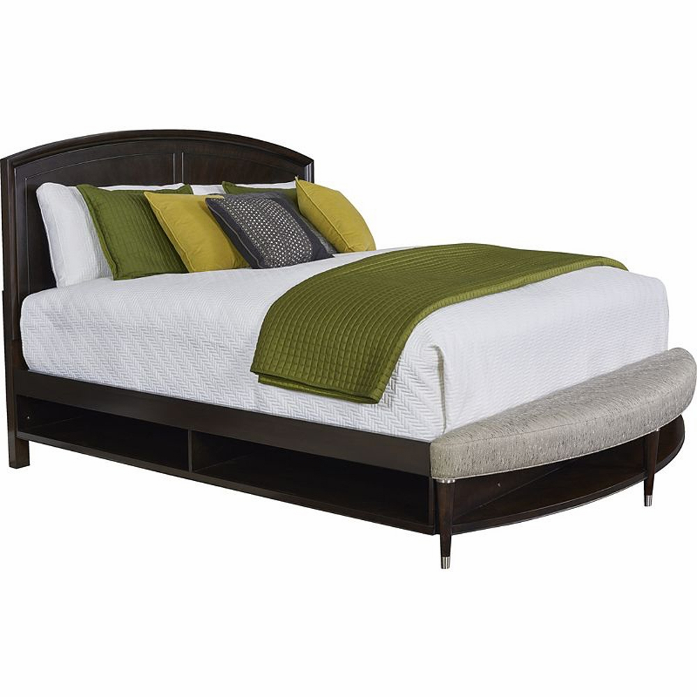 Broyhill Vibe Queen Panel Bed With Storage And Radius