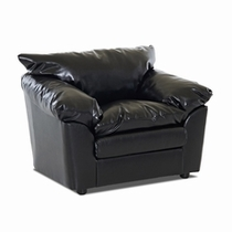 Klaussner Furniture Leather Single Chairs