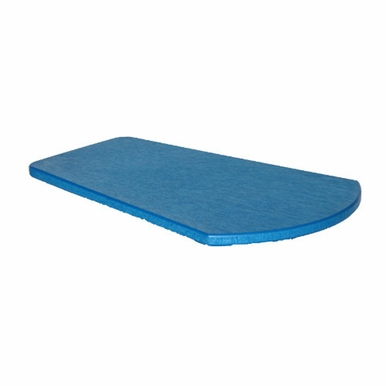CR Plastic Products - Generations Arm Table in Blue - A10-03