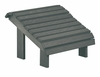 CR Plastic Products - Generations Premium Footstool in Slate - F04-18