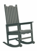 CR Plastic Products - Generations Casual Porch Rocker in Slate - C05-18