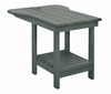 CR Plastic Products - Generations Tete A Tete Table in Slate - A12-18
