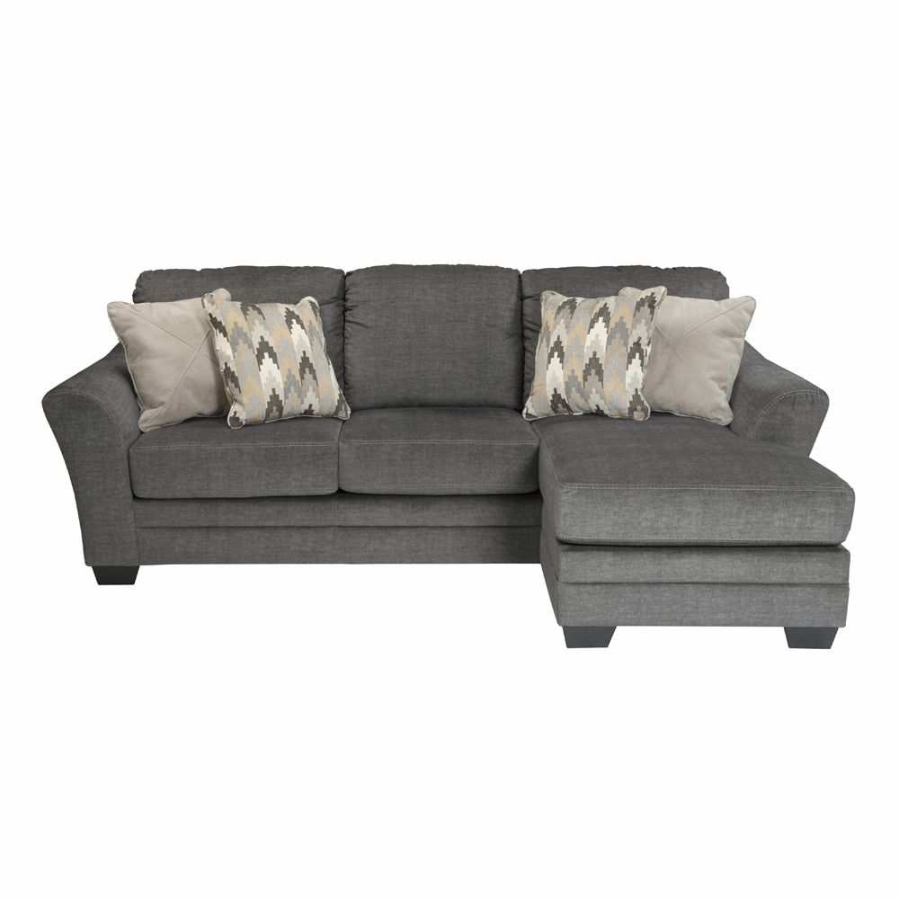 Benchcraft Braxlin Charcoal Sofa Chaise