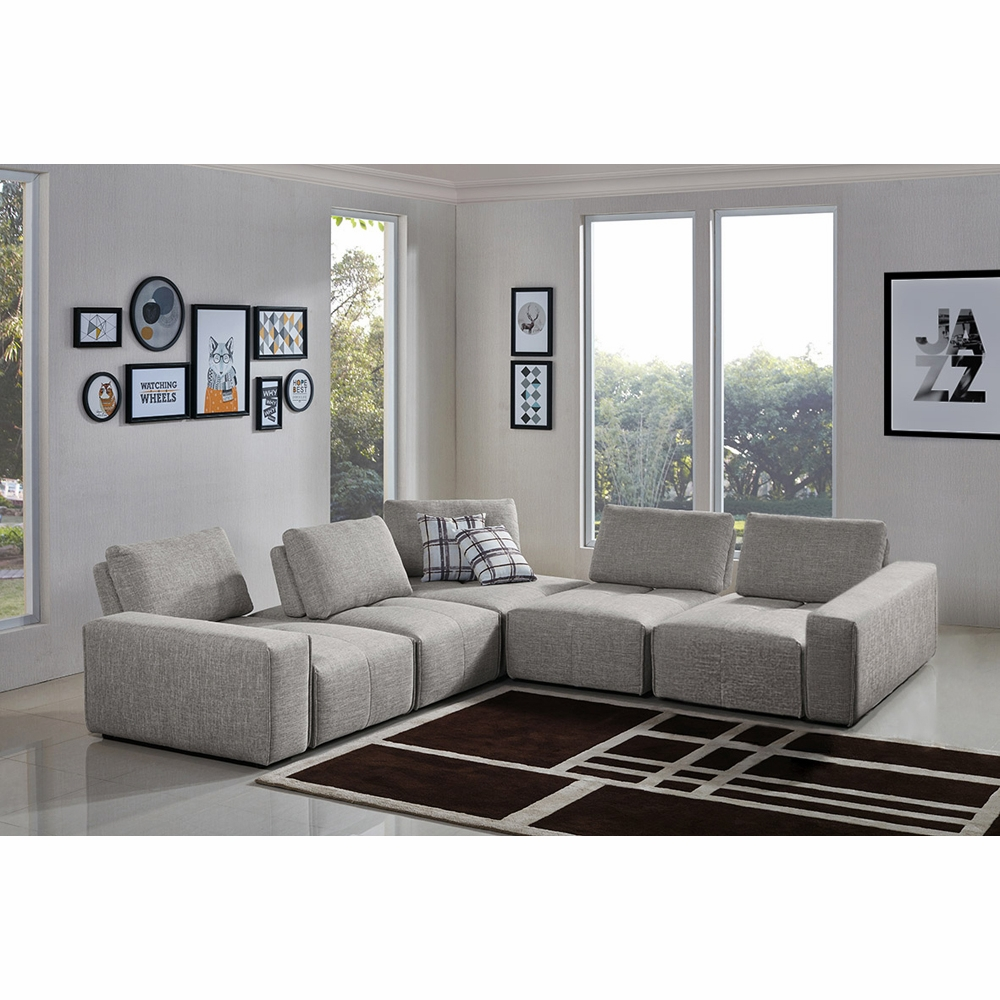 Jazz Modular 5-Seater Corner Sectional With