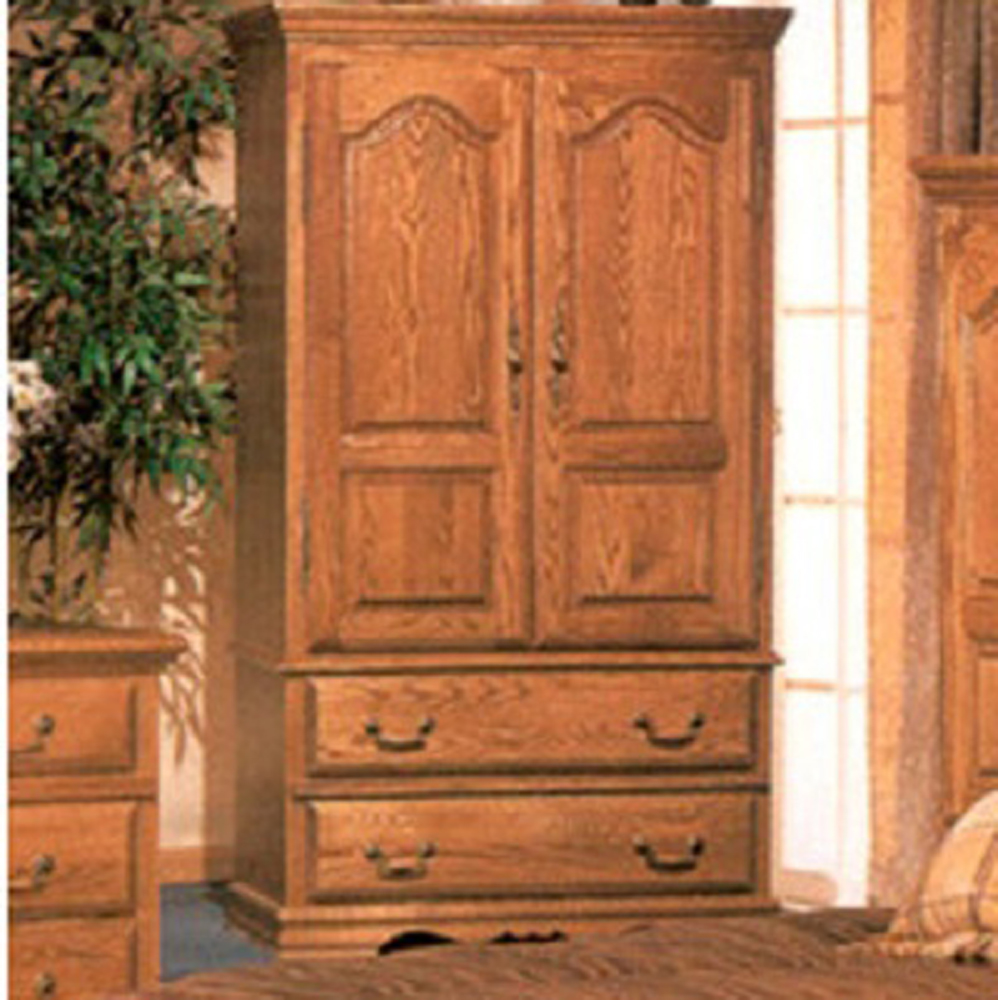 Bebe Furniture - Country Heirloom Large Tv Armoire With W...