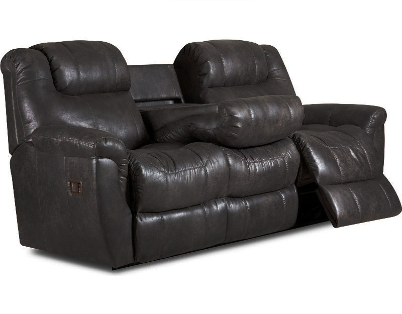 Lane Montgomery 2 Arm Double Reclining Sofa With 2 Motor ...