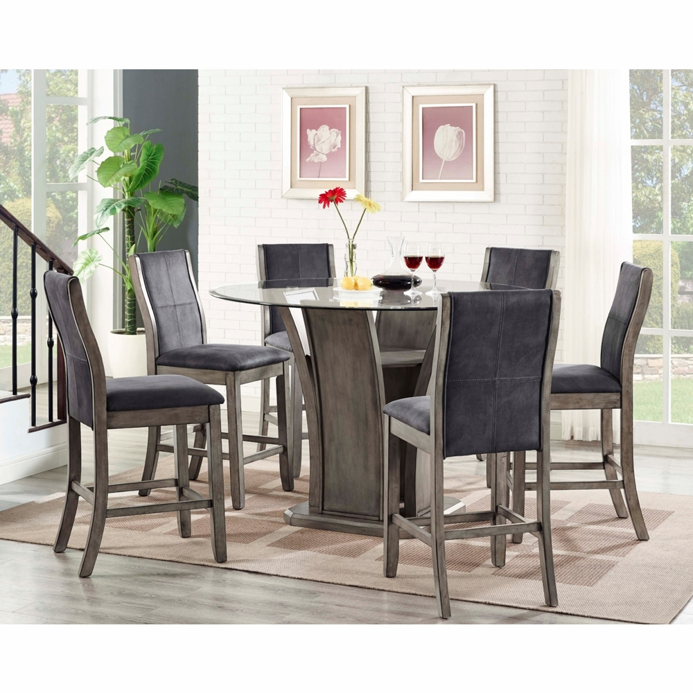 Dylan Round Counter 7PC Dining