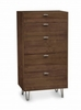 Copeland Furniture - Canto 5 Drawer Dresser in Natural Walnut - 2-CAN-50-04
