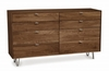 Copeland Furniture - Canto 8 Drawer Dresser in Natural Walnut - 2-CAN-80-04