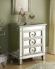 Monarch Specialties - Mirrored 3 Drawer Accent Table - I 3701
