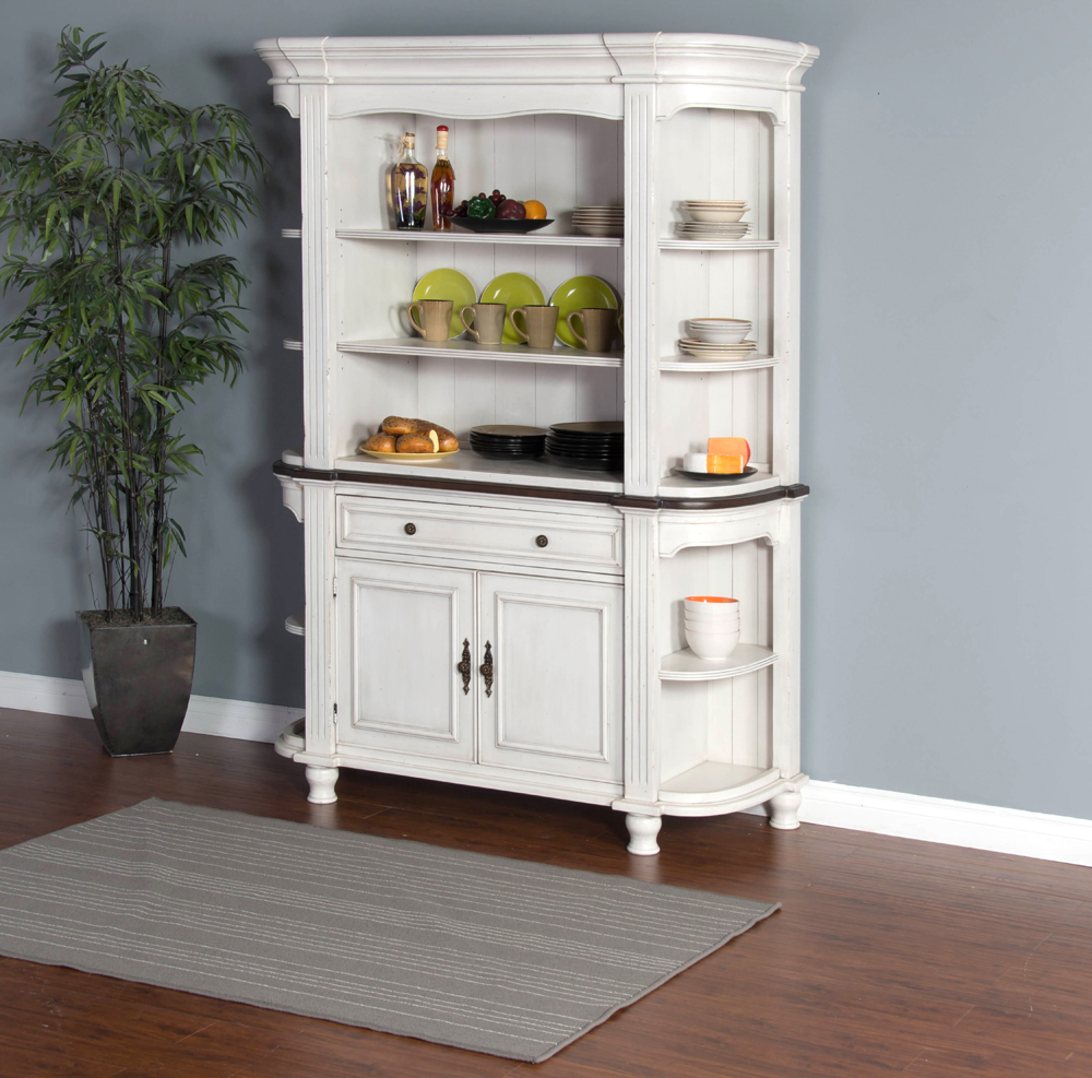 French Country Hutch & Buffet