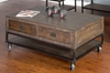 Sunny Designs - Coffee Table with Casters - 3255TL-C