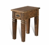 Sunny Designs - Homestead Chair Side Table with 1 Drawer - 3252TL-CS