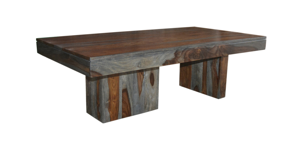 Coast to Coast Imports - Cocktail Table In Sheesham Highl...