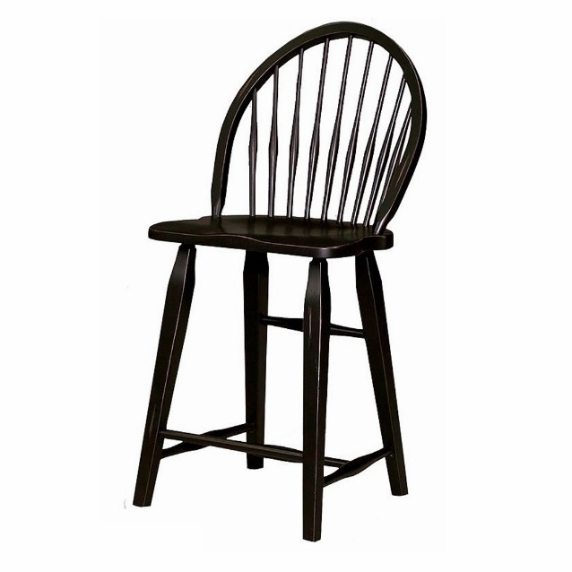 Broyhill Attic Heirlooms Windsor Counter Stool In