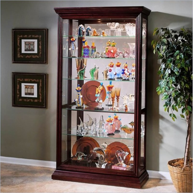 Pulaski Eden House Two Way Sliding Door Curio