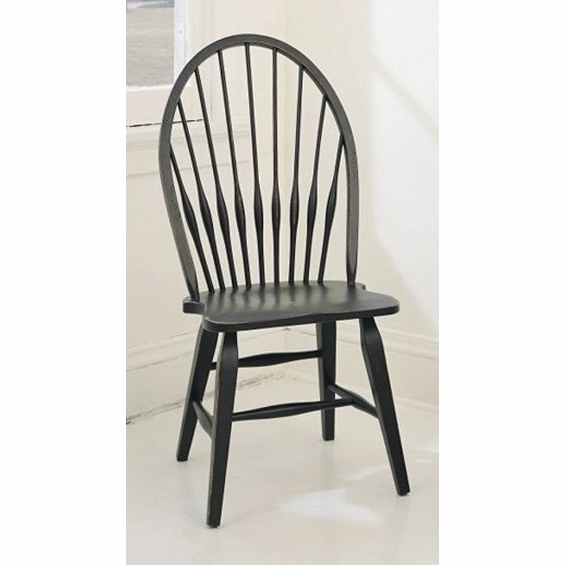 Broyhill - Attic Heirlooms Windsor Side Chair in Antique Black Set ...