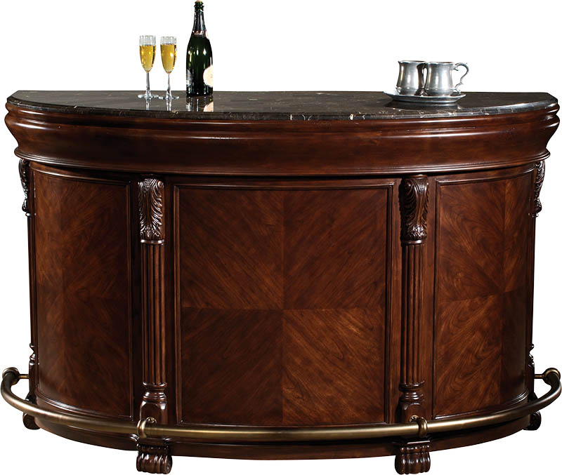 Howard Miller Niagara Rustic Cherry Wine Amp Bar Cabinet