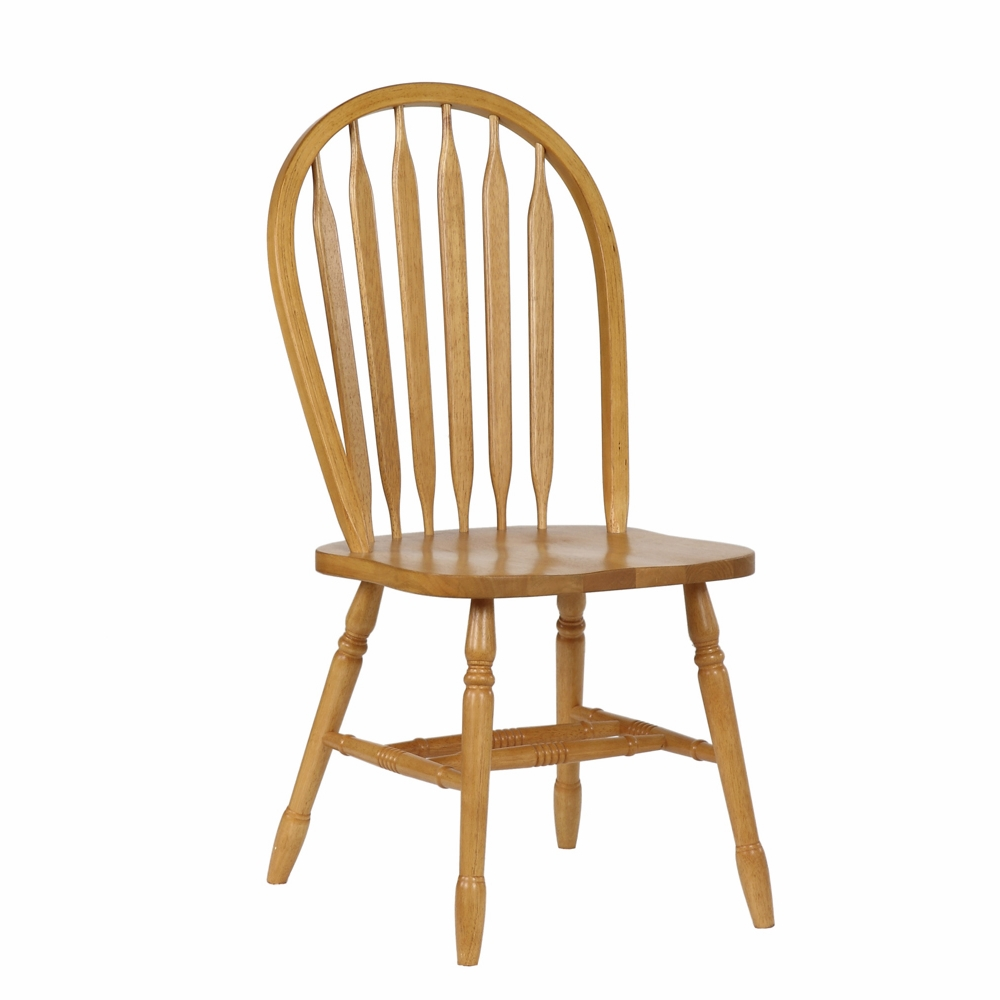 Dining Room Chairs Oak: Arrowback Dining Chair In Light Oak (Set