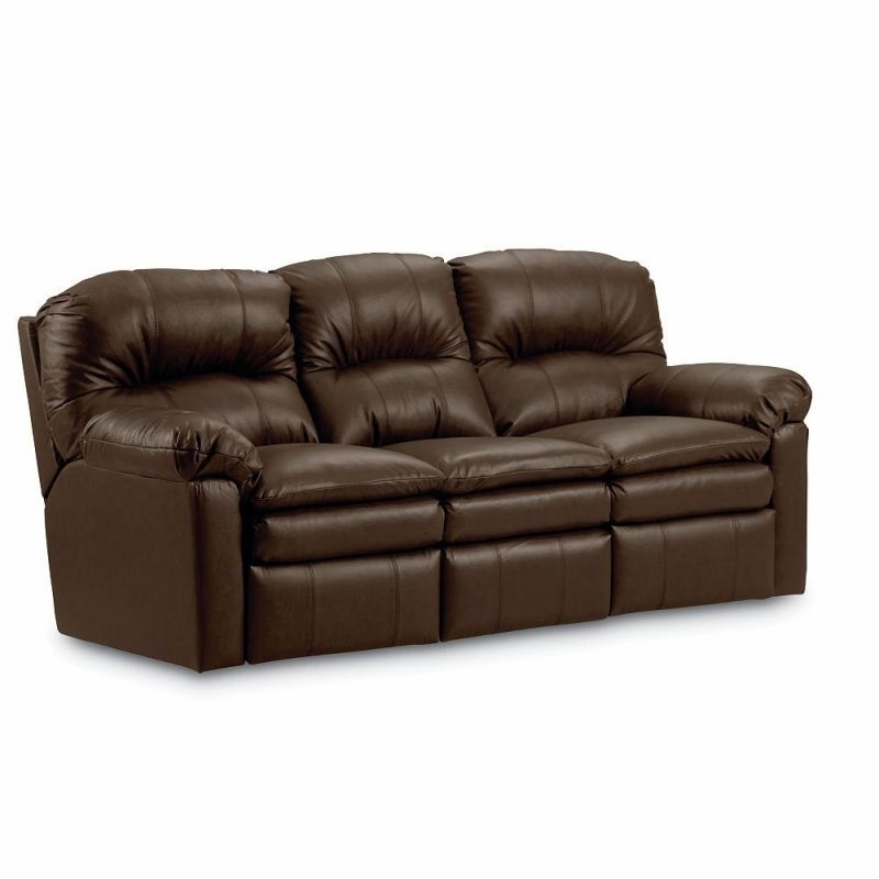 Lane Leather Recliner Sofa Living Room Reclining Grand