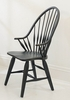 Broyhill - Attic Heirlooms Windsor Arm Chair in Antique Black  Set of 2 - 5397-84B