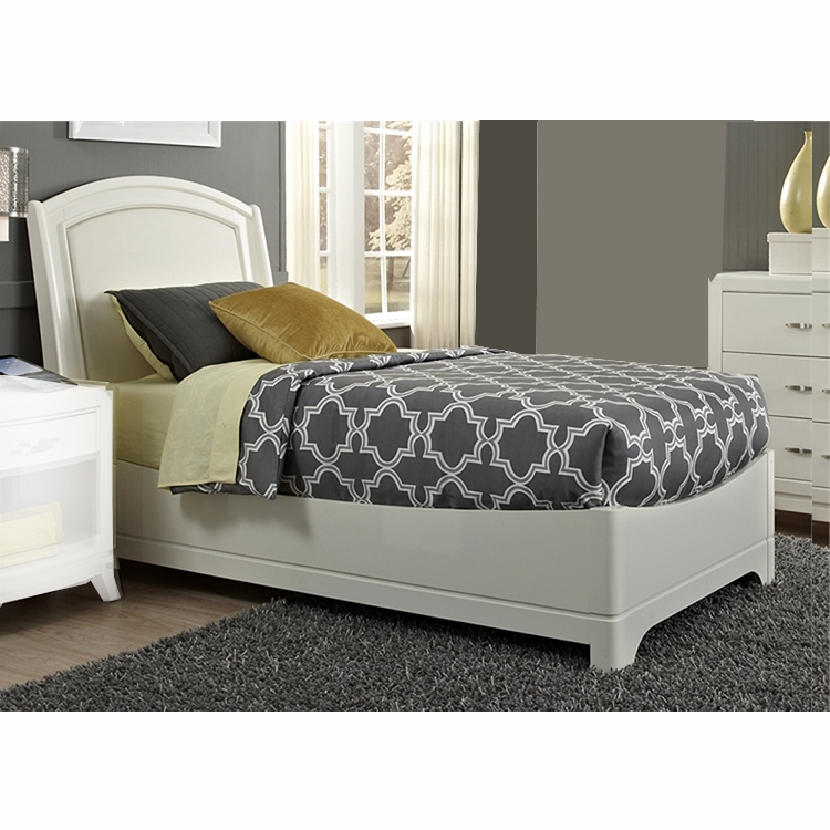 Liberty Furniture Avalon Ii Youth Twin Leather Bed 205 Ybr Tlb