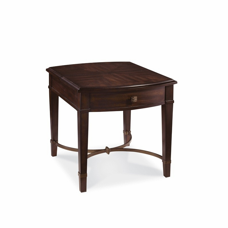 Art Furniture Intrigue Flip Top End Table In Pine Hickory Veneers Finish 161303 2636
