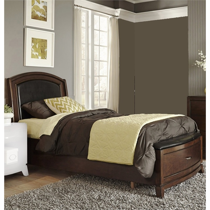 Liberty Furniture Avalon Youth Full Leather Storage Bed 505 Ybr Fls